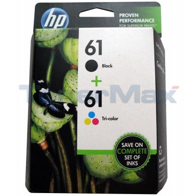 HP NO 61 INK BLACK/COLOR COMBO PACK